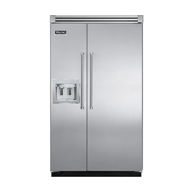 48 Side By Refrigerator Freezer With Dispenser Visb548d