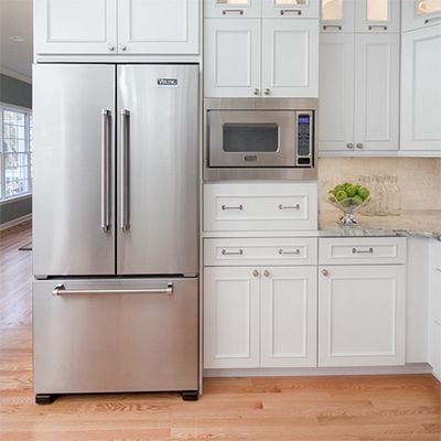 8 Places To Put The Microwave For A Better Kitchen Design By Yanic Simard,  Houzz