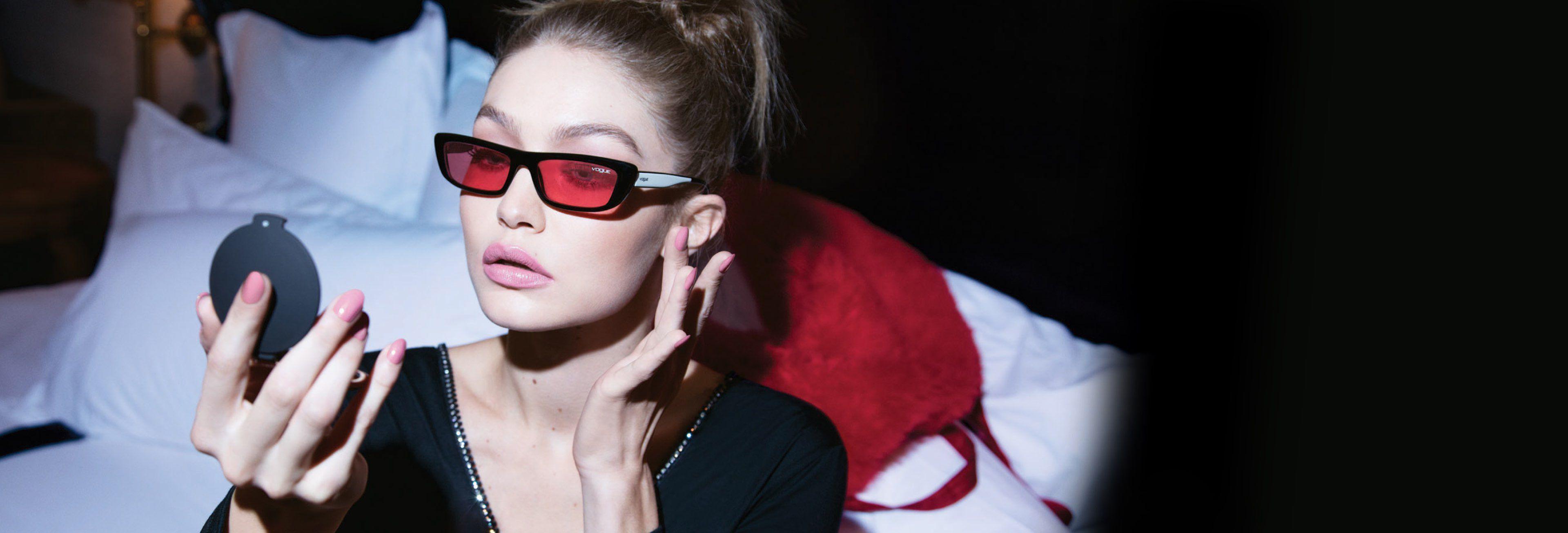 ba0d45ca8 Coleção Gigi Hadid 2019 | Vogue Eyewear VogueBR