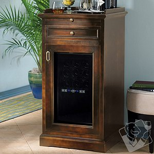 Wood Cabinet Wine Cooler Cabinets Matttroy