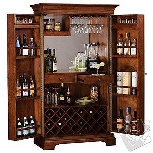 Howard Miller Barossa Valley Wine & Bar Cabinet
