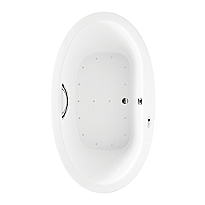 "Nexus® Air Bath 71-3/8"" x 35-7/16"" x 24-3/16"""