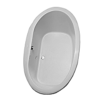 Pacifica&reg;      6' Soaker Bathtub <br>72
