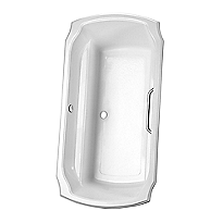 "Guinevere® 6' Soaker Bathtub 71-1/2"" x 38"" x 24"""