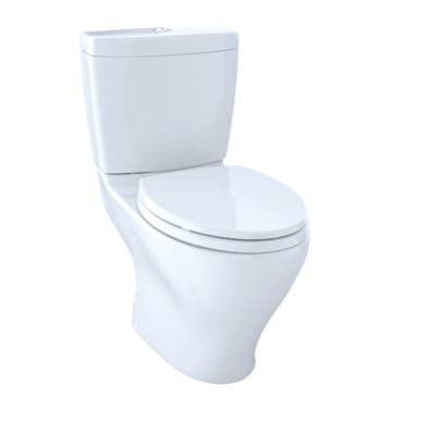 Aquia Dual Flush Two Piece Toilet 1 6gpf 0 9gpf 10 Rough In Elongated Bowl