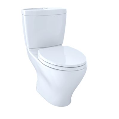 Nice Aquia II Dual Flush Two Piece Toilet, 1.6 GPF U0026 0.9 GPF, Elongated Bowl