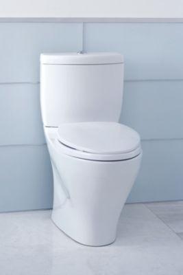 Aquia II Dual Flush Two Piece Toilet, 1.6 GPF U0026 0.9 GPF, Elongated Bowl