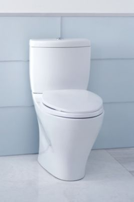 aquia ii dual flush twopiece toilet 16 gpf u0026 09 gpf elongated bowl