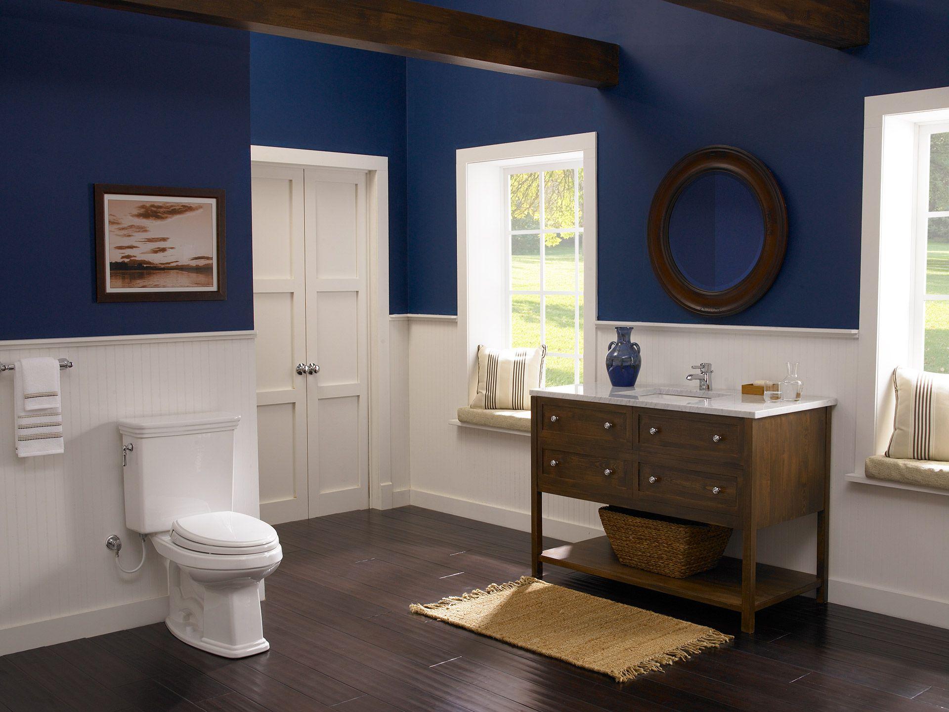 Eco Promenade® Two-Piece Toilet, 1.28 GPF, Round Bowl - TotoUSA.com