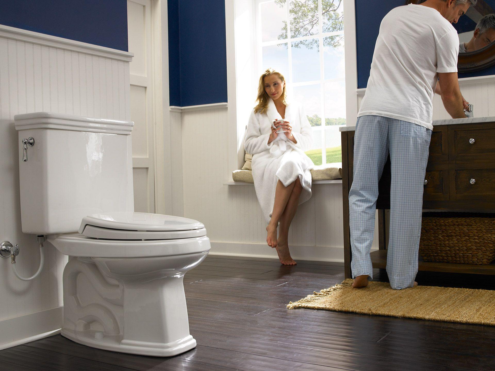 Promenade® Two-Piece Toilet, 1.6 GPF, Elongated Bowl - TotoUSA.com
