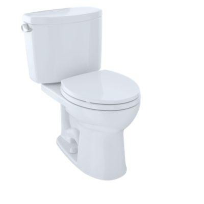 round front toilet dimensions.  Drake II Two Piece Toilet Round Bowl 1 28 GPF TotoUSA com