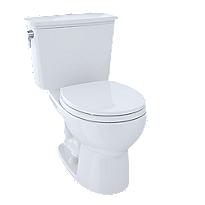 Toilette deux pièces Eco Drake® Transitional, 1,28gpc, cuvette ronde