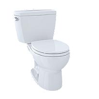 Toilette deux pièces Drake®, 1,6gpc, cuvette ronde