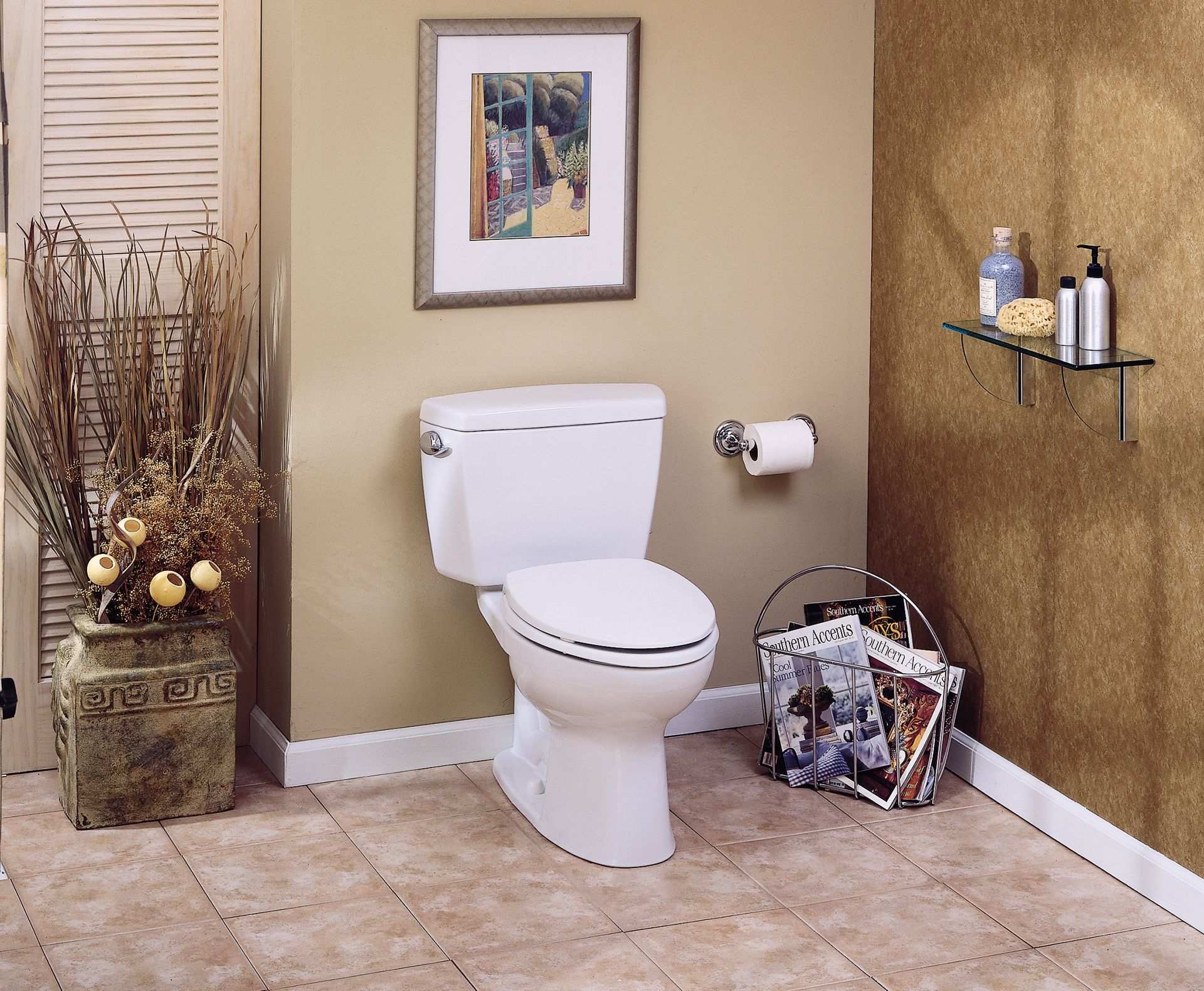 Drake® Two-Piece Toilet.1.6 GPF, Round Bowl - TotoUSA.com