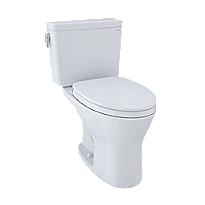 Toilette deux pièces Drake®, cuvette allongée 1,0gpc et 0,8gpc
