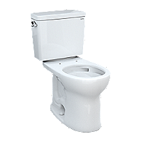 Drake® Two-piece Toilet, 1.6 GPF, Round Bowl - Universal Height