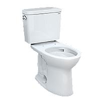 Drake® Two-piece Toilet, 1.28 GPF, Elongated Bowl
