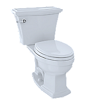 Clayton® Two-Piece Toilet, 1.6 GPF, Elongated Bowl