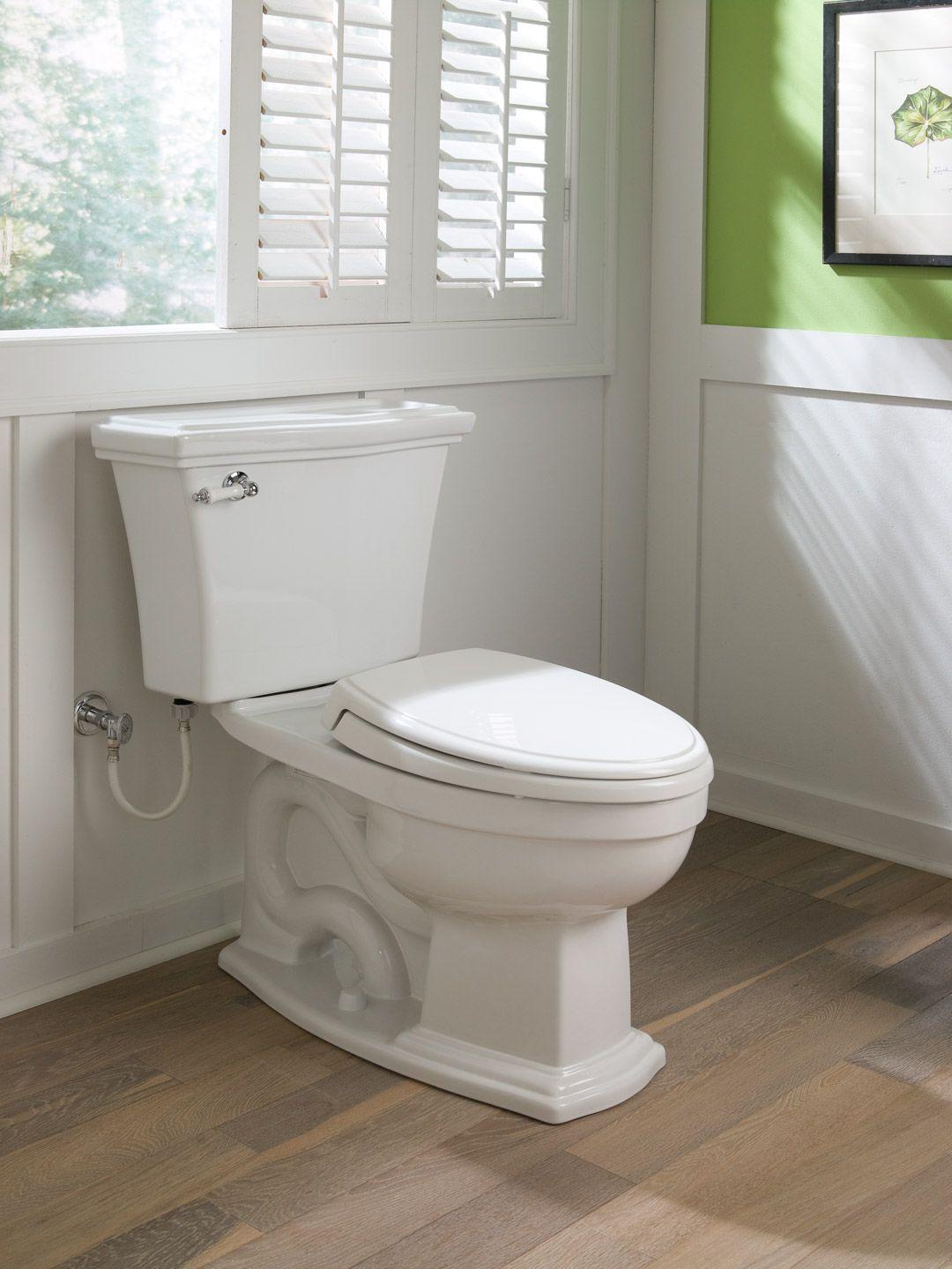 Clayton® Two-Piece Toilet, 1.6 GPF, Elongated Bowl - TotoUSA.com