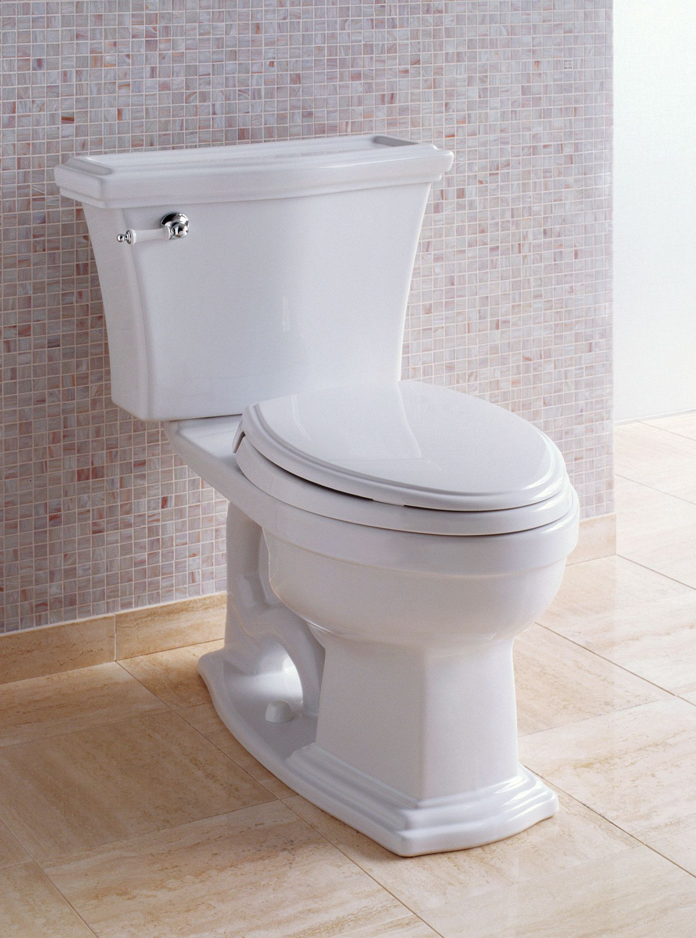 ClaytonR Two Piece Toilet 16 GPF Elongated Bowl