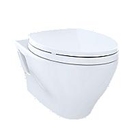 Toilette suspendue à double chasse Aquia®, 1,6 gpc et 0,9 gpc, cuvette allongée