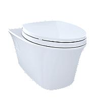Toilette suspendue à double chasse Maris®, 1,6 gpc et 0,9 gpc, cuvette allongée