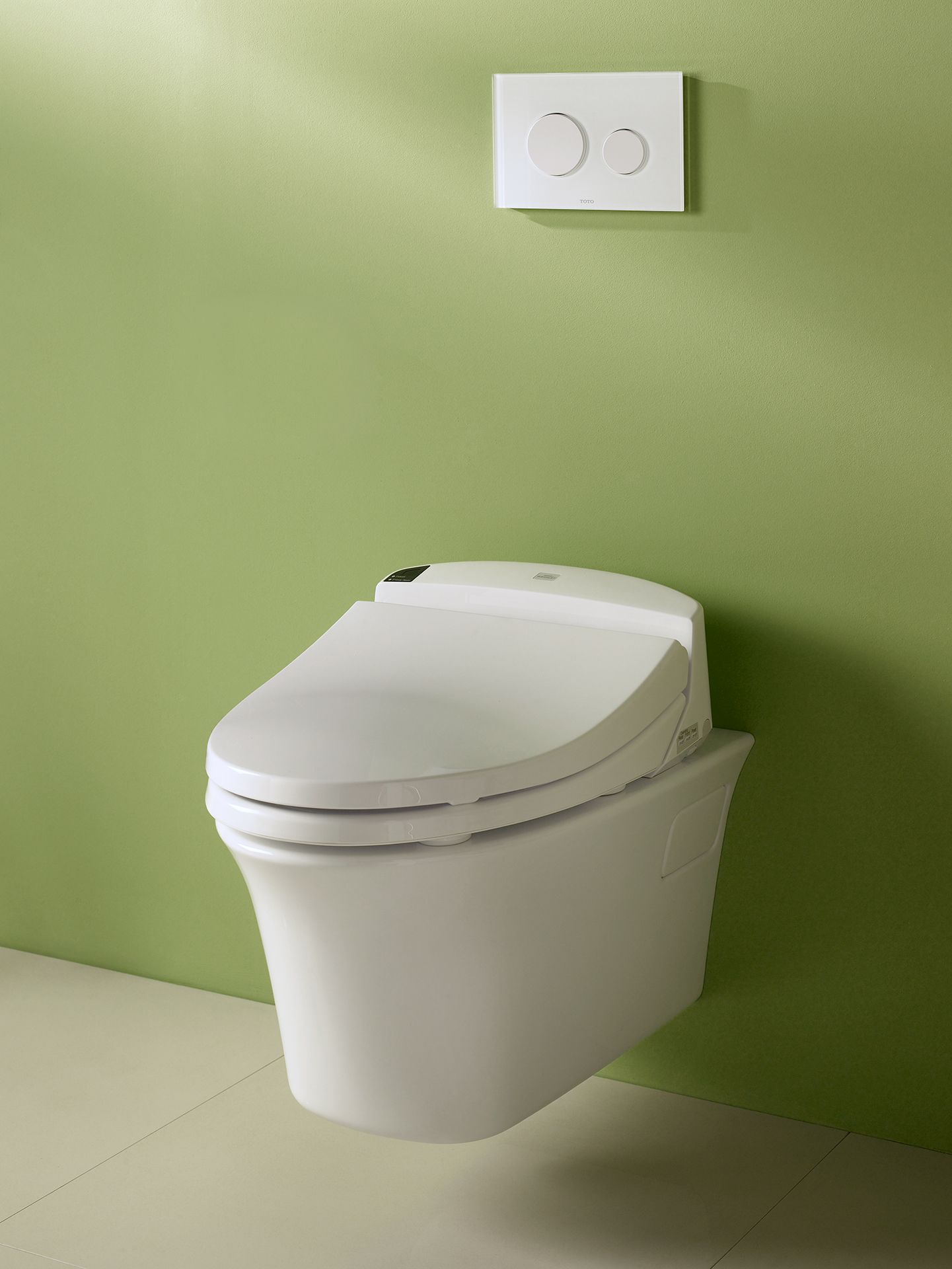 Maris® Wall-Hung Dual-Flush Toilet, 1.6 GPF & 0.9 GPF, Elongated ...