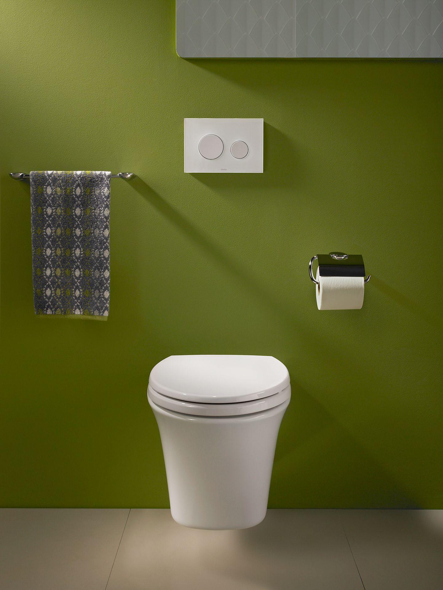 Maris® Wall-Hung Dual-Flush Toilet, 1.6 GPF & 0.9 GPF, Elongated ...