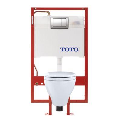 Aquia Wall Hung Dual Flush Toilet 1 6 Gpf 0 9 Gpf Elongated