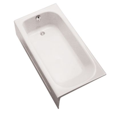 enameled cast iron bathtub - totousa