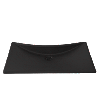 Waza® Noir™ - Lavabo de hierro fundido