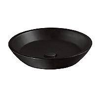 Waza®      Noir™    Cast Iron Vessel Lavatory
