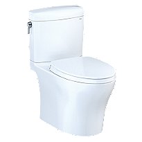 Aquia® IV Cube Toilet - 1.28 GPF & 0.8 GPF, Universal Height, Washlet+ Connection