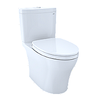 Aquia® IV 1G Toilet - 1.0 GPF & 0.8 GPF, Elongated Bowl - WASHLET+ Connection