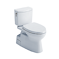 Vespin® II 1G Two-Piece Toilet, Elongated Bowl - 1.0 GPF - WASHLET®+ Connection