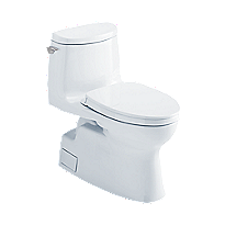 Carlyle® II 1G One-Piece Toilet, 1.0 GPF, WASHLET®+ Connection