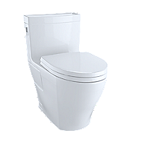 Toilette monobloc Legato™, 1,28gpc, cuvette allongée