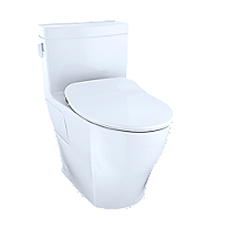 Legato™ One-Piece Toilet, 1.28GPF, Elongated Bowl - WASHLET®+ Connection - Slim Seat