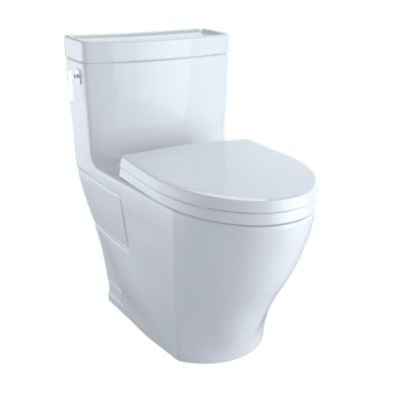 Beau Aimes® One Piece Toilet, 1.28GPF, Elongated Bowl