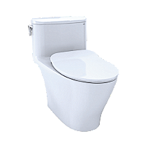 Nexus® One-Piece Toilet, 1.28 GPF, Elongated Bowl - Slim Seat