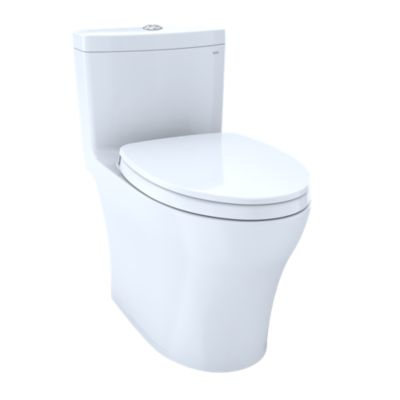 Aquia Iv One Piece Toilet 1 0 Gpf 8 Elongated Bowl Washlet Connection