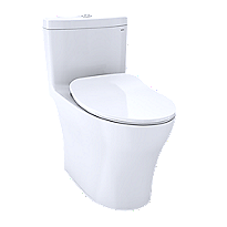 Aquia® IV One-Piece Toilet - 1.28 GPF & 0.8 GPF, Elongated Bowl - WASHLET+ Connection - Slim Seat