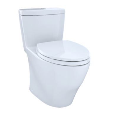 Aquia One Piece Toilet 1 6 Gpf 0 9 Elongated Bowl