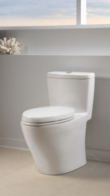 aquia onepiece toilet 16 gpf u0026 09 gpf elongated bowl