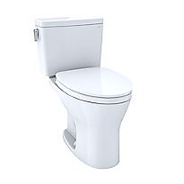 Toilette à réservoir attenant Drake®, cuvette allongée à 1,6gpc et 0,8gpc