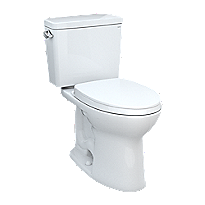 """Drake® Two-piece Toilet, 1.28 GPF, Elongated Bowl - Universal Height - 10"""" Rough-In"""
