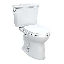 Drake® Transitional Two-piece Toilet, 1.28 GPF, Elongated Bowl - Universal Height