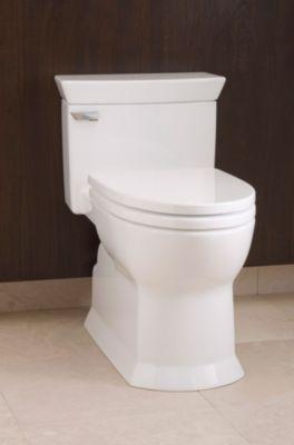 Charmant Eco Soirée® One Piece Toilet, 1.28 GPF, Elongated Bowl