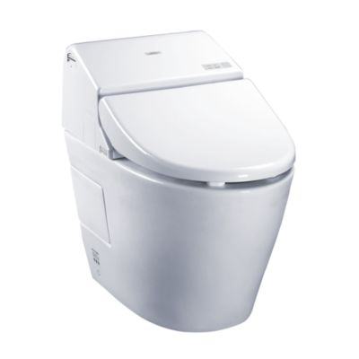 Washlet® with Integrated Toilet G400 - 1 28 GPF & 0 9 GPF - TotoUSA com
