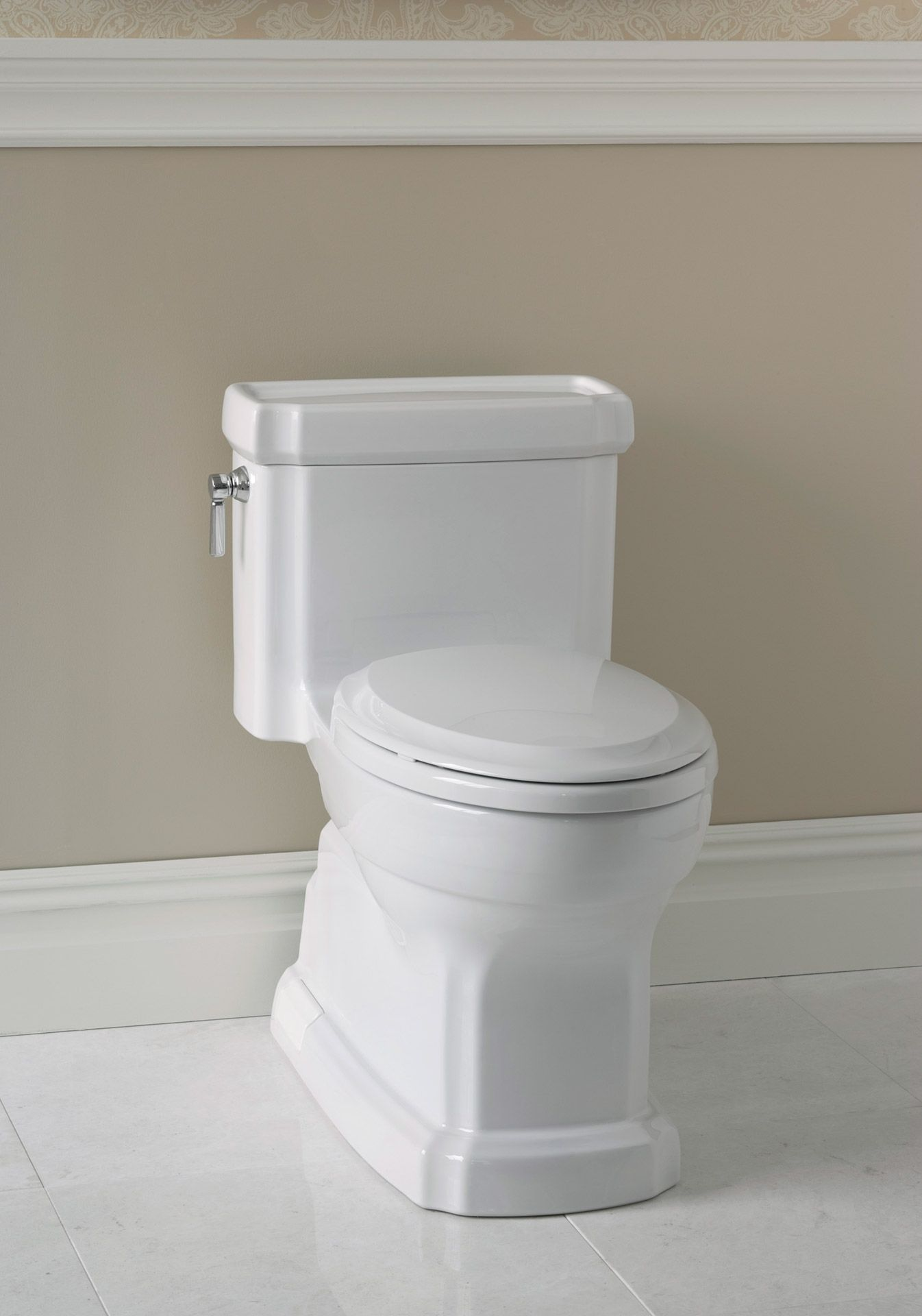 Eco Guinevere® One-Piece Toilet, 1.28 GPF, Elongated Bowl - TotoUSA.com
